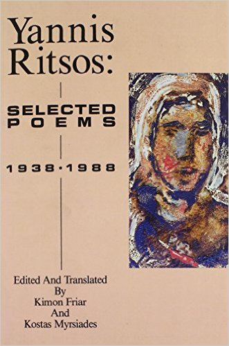 Yannis Ritsos: Selected Poems 1938 - 1988